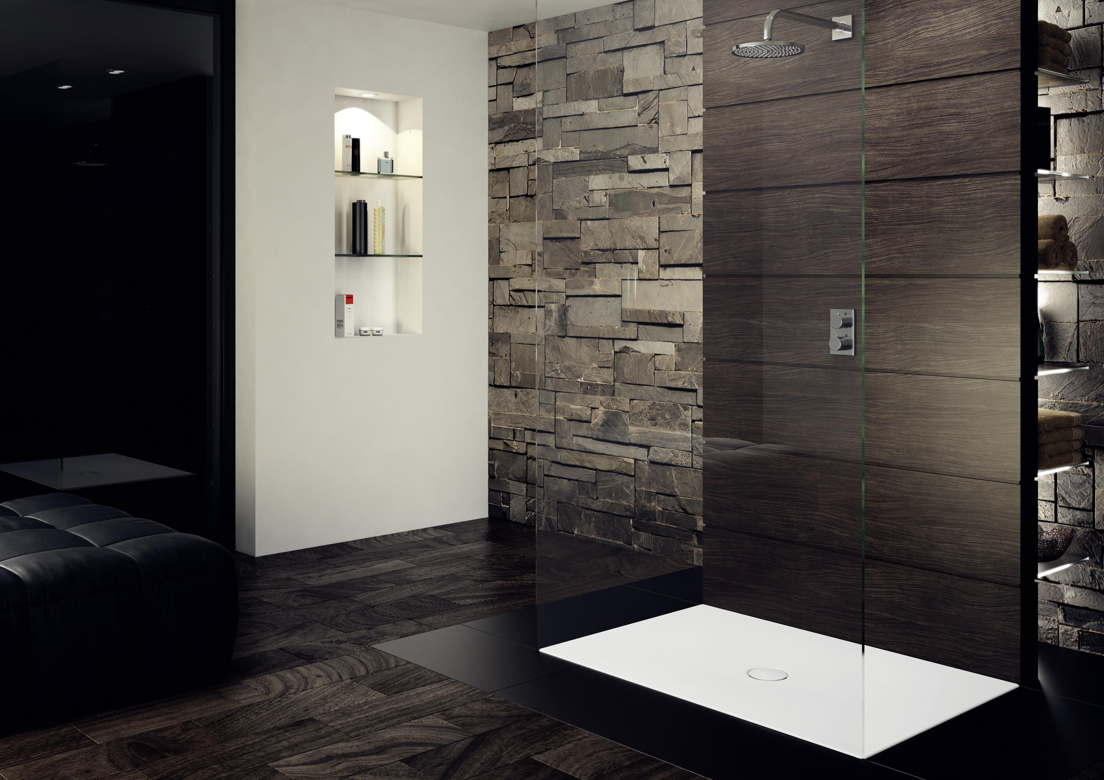 Kaldewei scona di kaldewei moderni piatti doccia per qualsiasi budget iconic bathroom solutions - Integrale badkamer ...